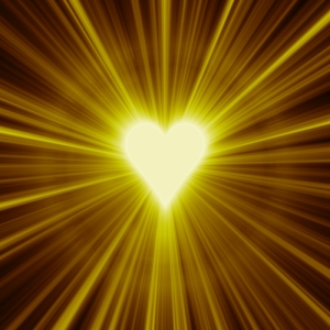 golden star heart